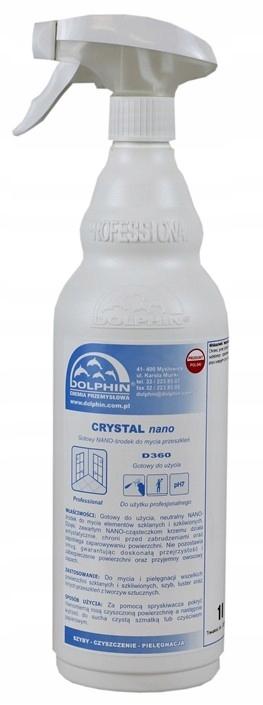 DOLPHIN CRYSTAL NANO MYCIE SZYB I OKIEN 0,75L