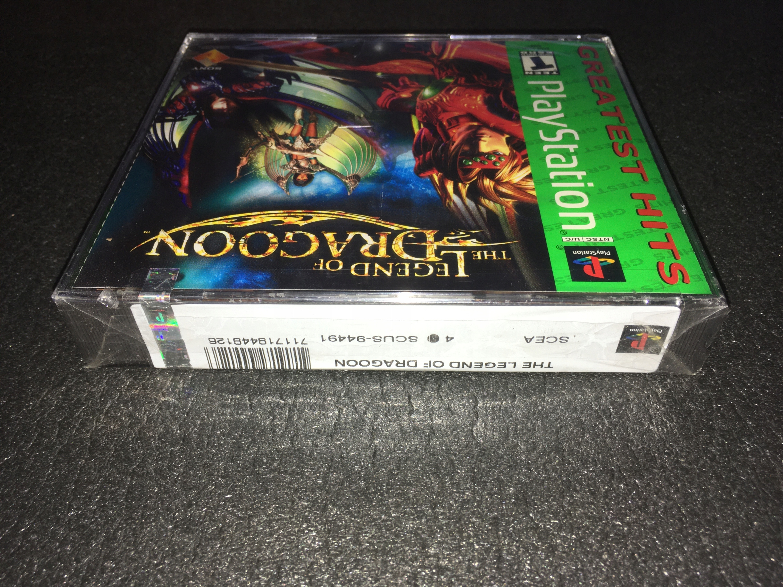 The Legend of Dragoon / Nowa / PS1 / NTSC-USA