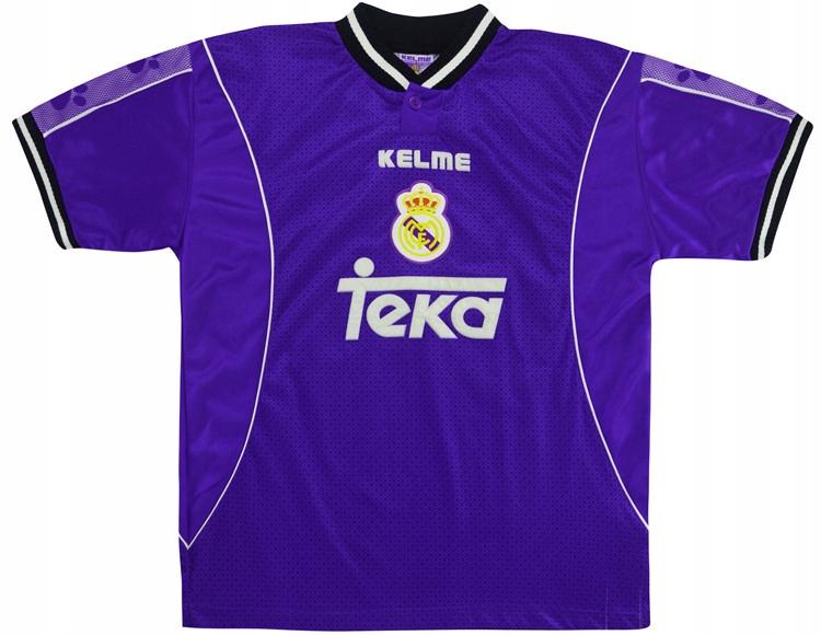 Kelme tričko REAL MADRYT 1997/1998 - RETRO. XL
