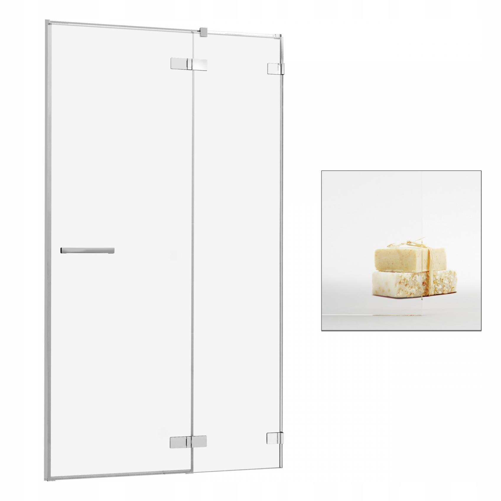 Dvere sprcha Umenia II DWJ 100 P UltraClea