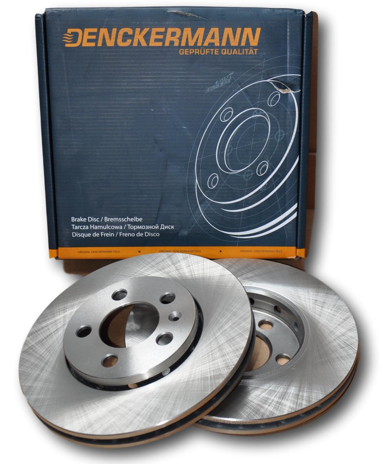 New Pck of 2 Brake Disc Blue Print ADB114336 Febi Bilston