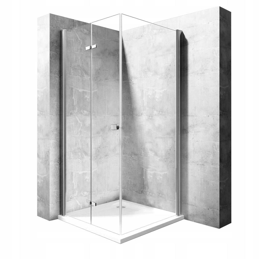 Skladacia sprchová kabína Rea Best 80x120 cm