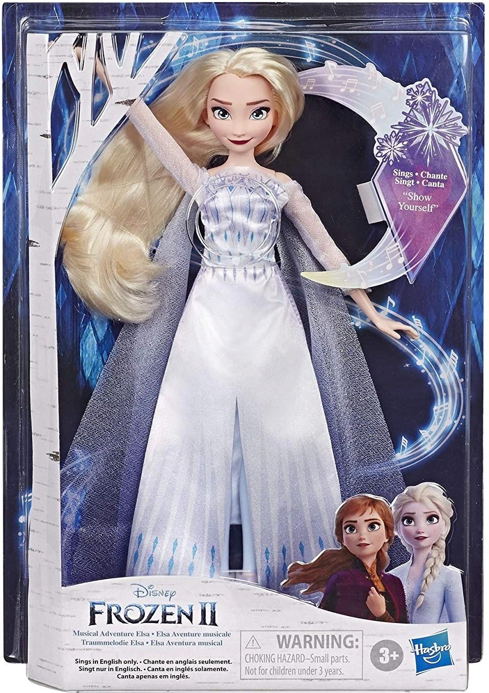 Spiewajaca Lalka Elsa Frozen 2 Kraina Lodu Dzwiek 9170257266 Allegro Pl