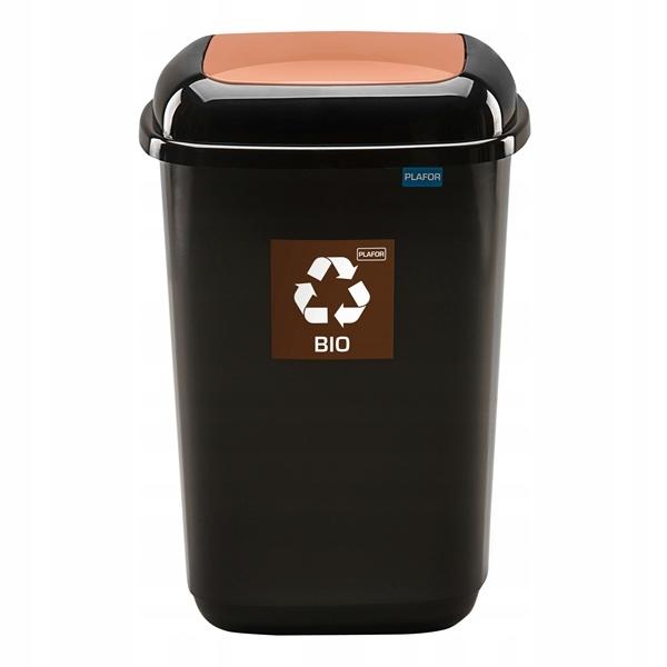 90l kôš na oddelenie odpadu a odpadu BIO