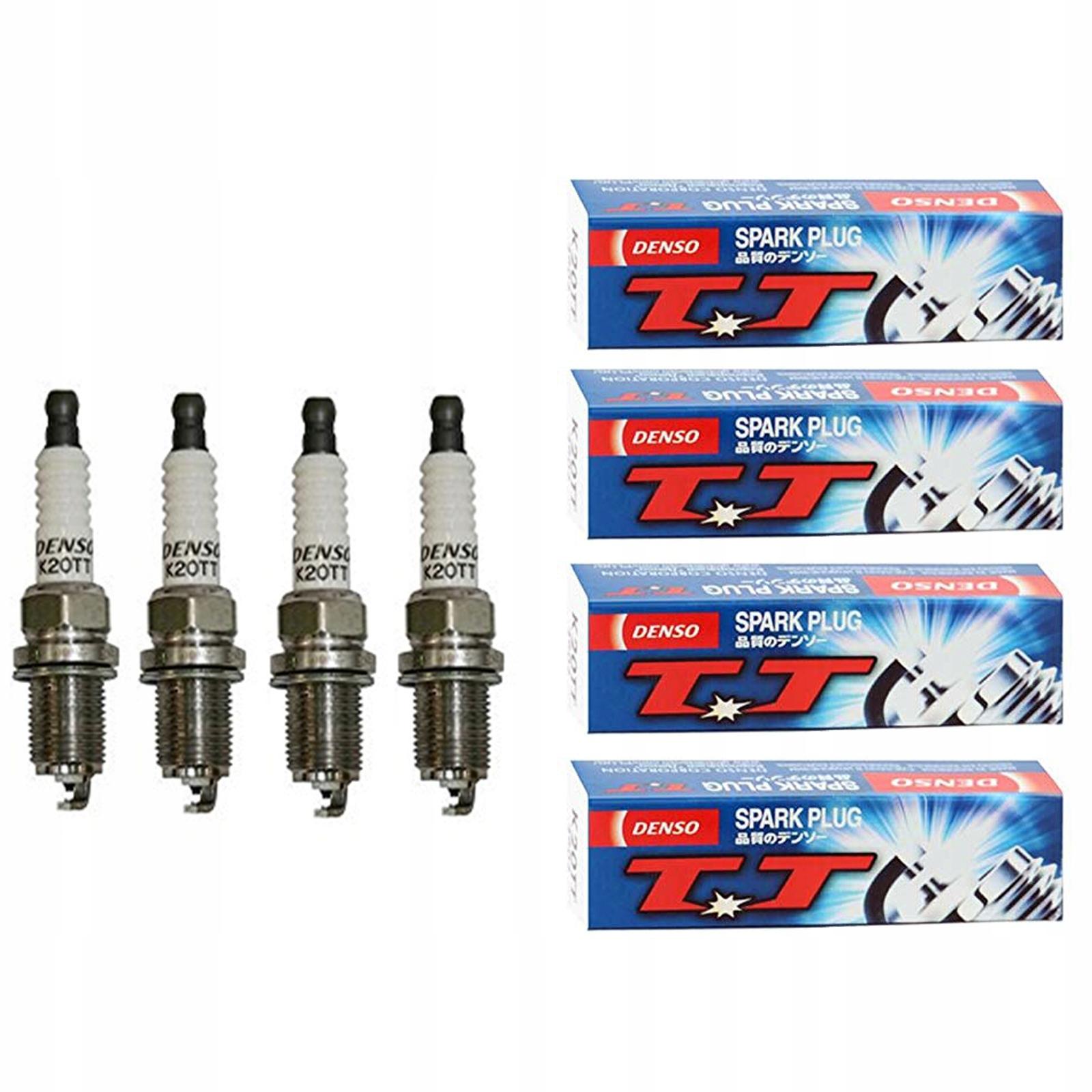 4x denso k20tt Свечи зажигания - комплект к снг
