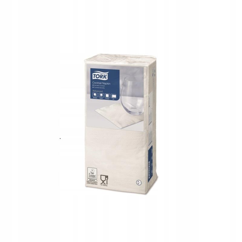 Tork 477534 - Serwetki, białe, 2-warstwy, x200