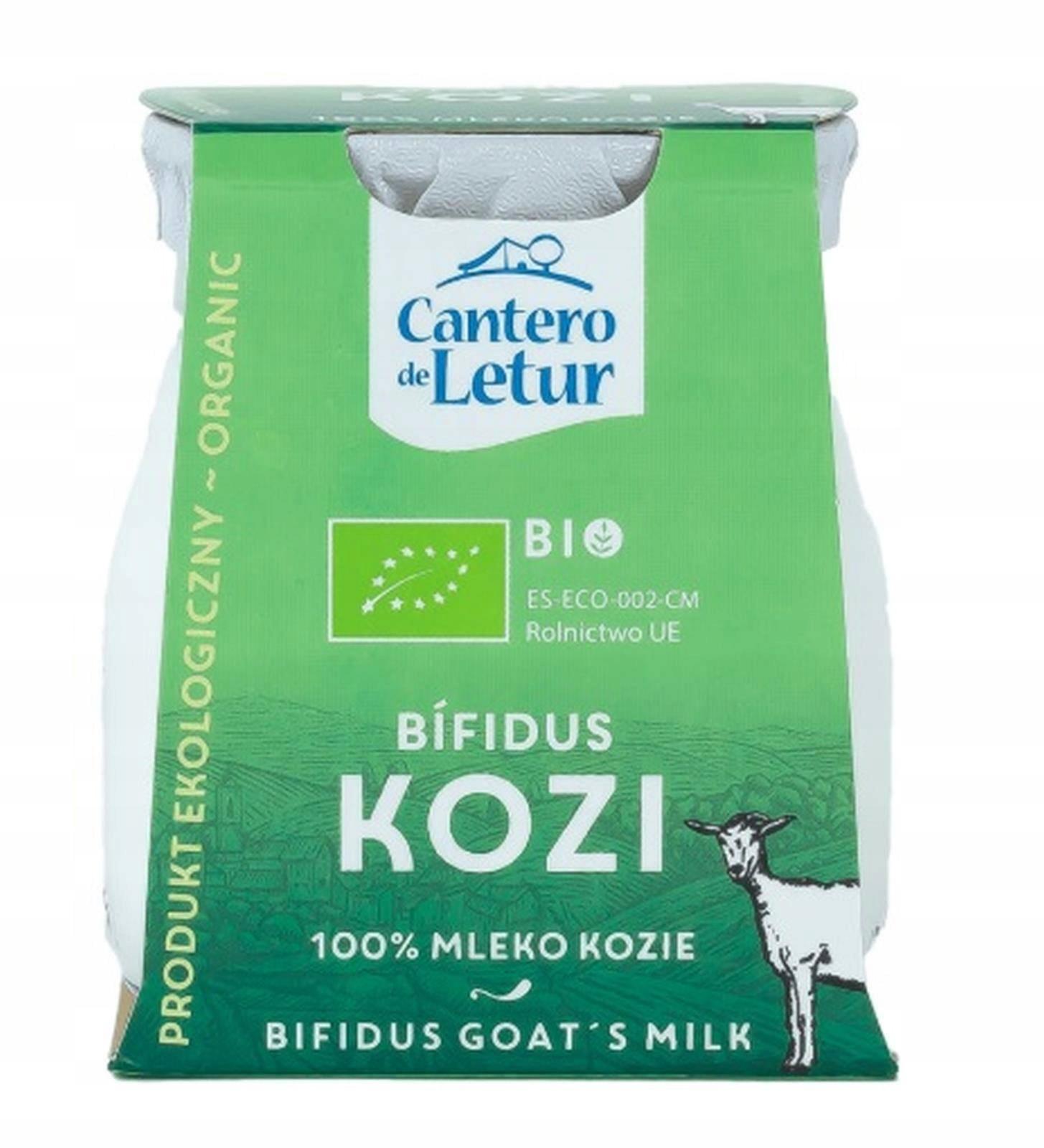CANTERO DE LETUR Йогурт козий Bifidus BIO 125 г