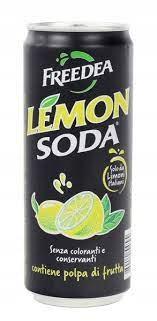 Купить Газированный напиток LemonSoda 330 мл на Otpravka - цены и фото - доставка из Польши и стран Европы в Украину.