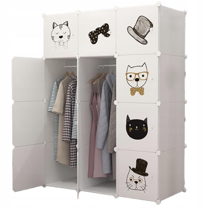 Купить Модульный шкаф книжный шкаф детский шкаф - белый на Otpravka - цены и фото - доставка из Польши и стран Европы в Украину.