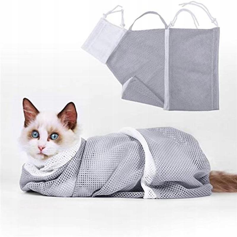 сетчатая сумка для кошек для душа