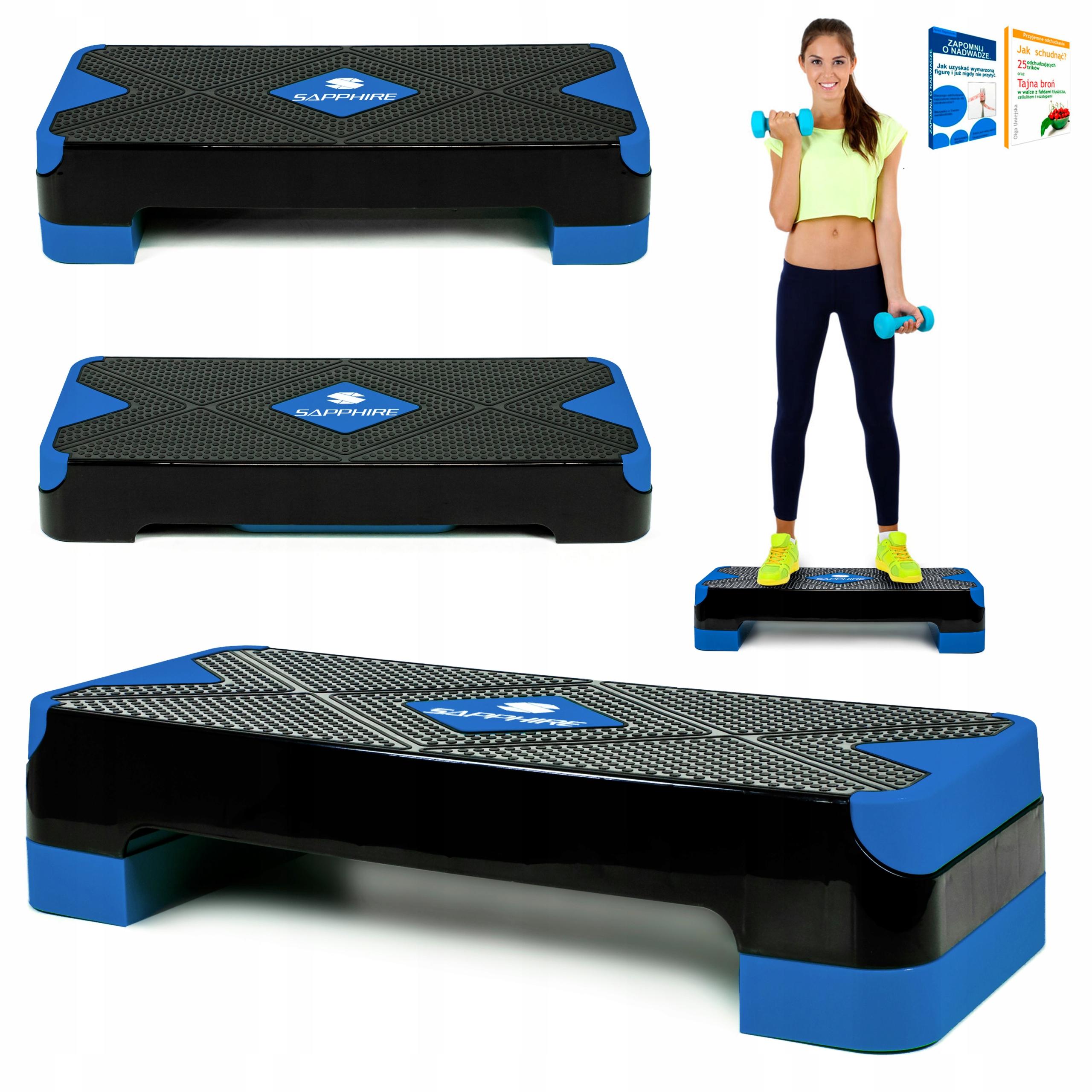 Krok pre fitness cvičenie Aerobik SG-44, 2 stupne