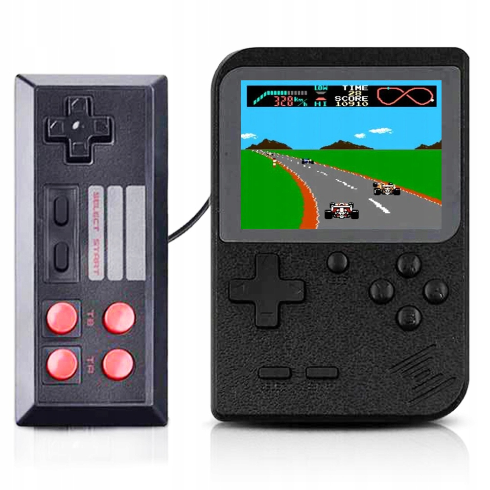 Item 500 GAMES FOR 2 PLAYERS, MINI-CONSOLE RETRO SCREEN 3.0