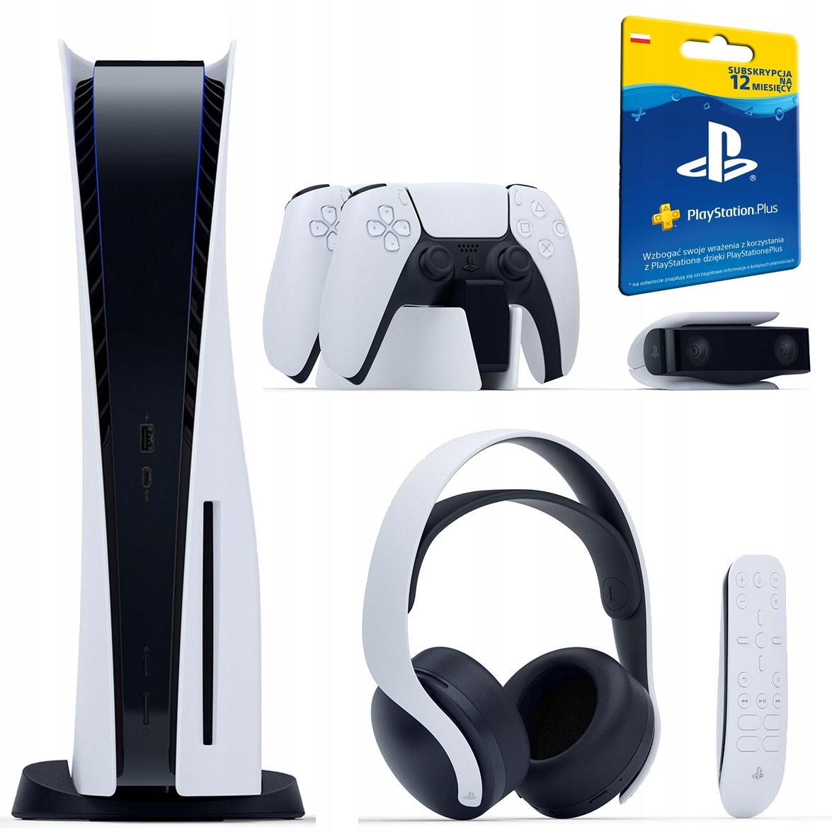 PS5 Playstation 5 Full Opcja Pełen Zestaw MISTRZA