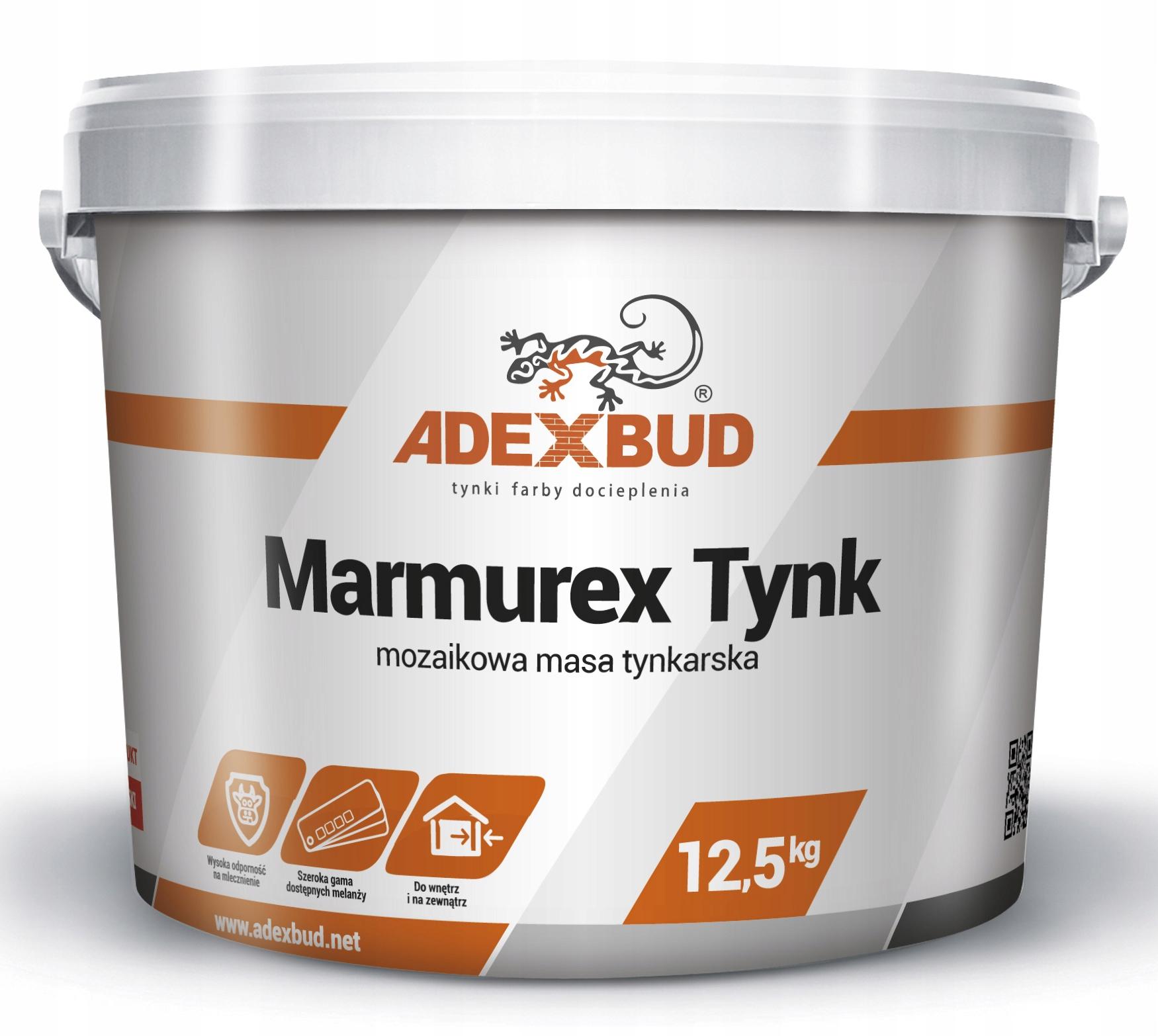 MARMUREX TYNK mozaikowy żywiczny marmolit 25 kg