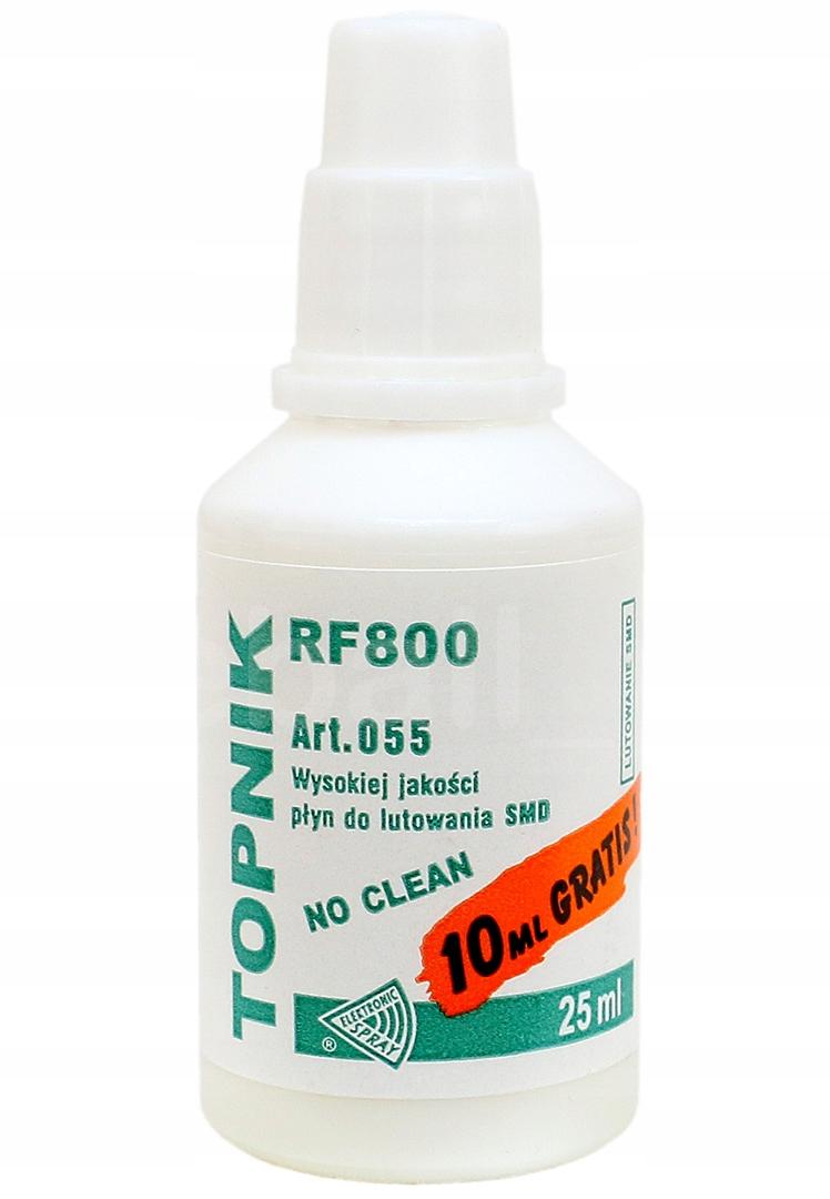 TOPNIK RF800 DO LUTOWANIA SMD BGA 25 ML NO CLEAN