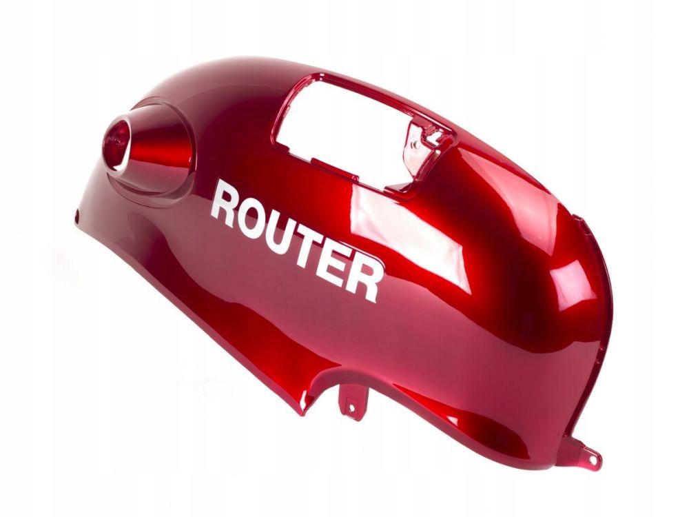 Pravý bočný kryt Router Romet Retro červený