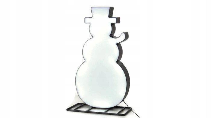 NOWOŚĆ białe LED 43cm IP44 do ogrodu BAŁWAN