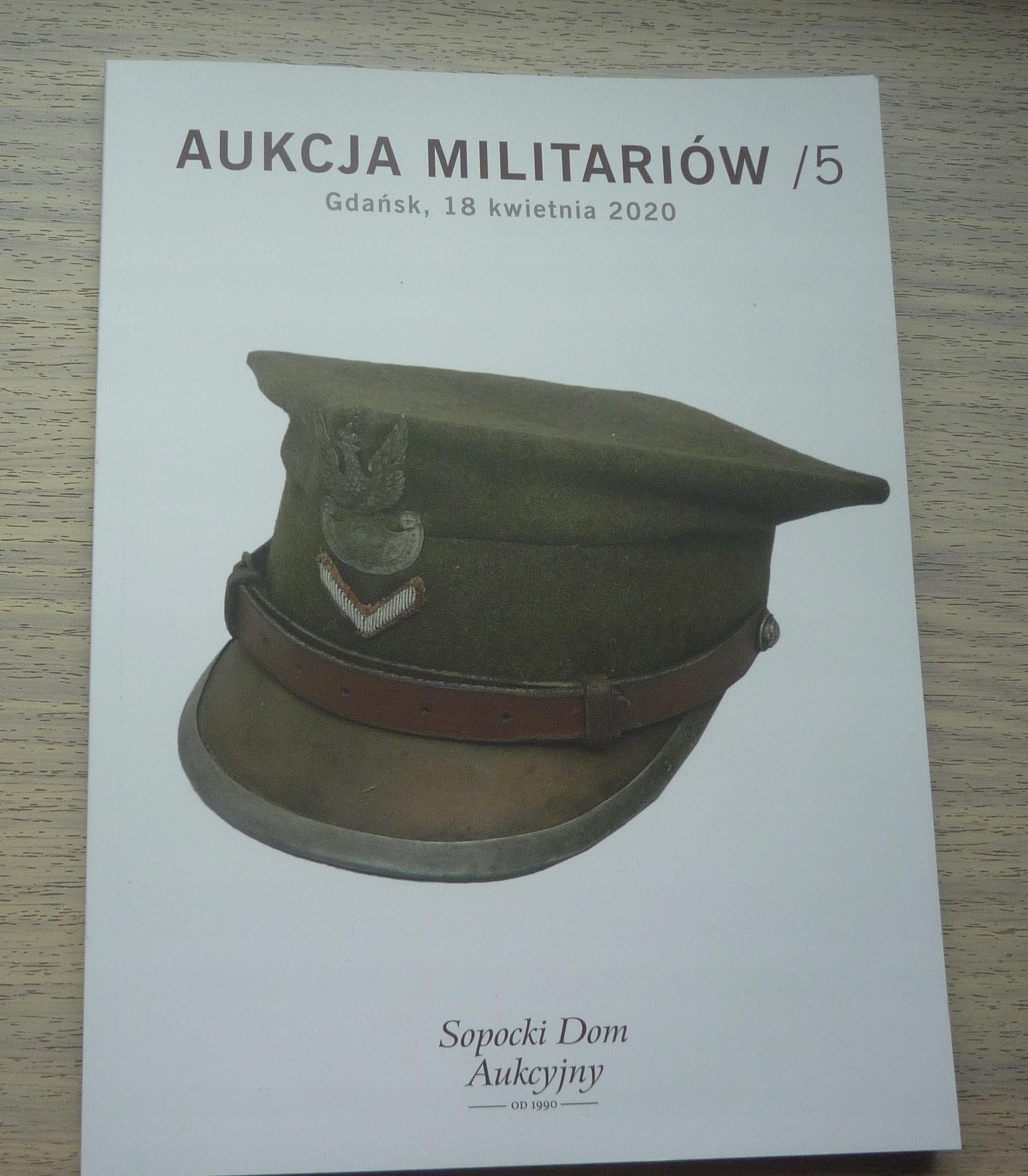 Militaria Auction No. 5 - Гданьск 2020 -A11