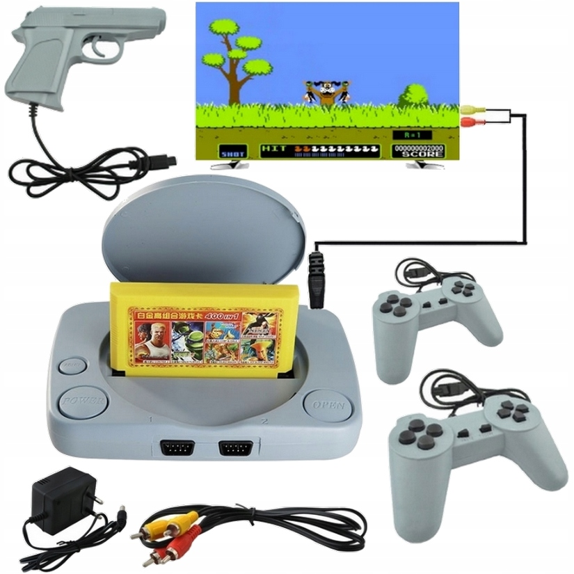 Item GAME TV GAME CONSOLE-TV PEGASUS SLOT MACHINE + GAMES