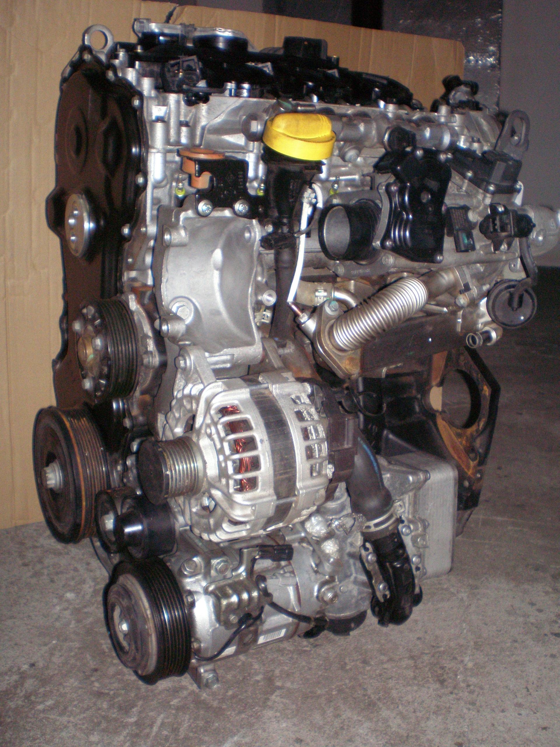 двигатель 2 0 dci renault попасть m9r 786