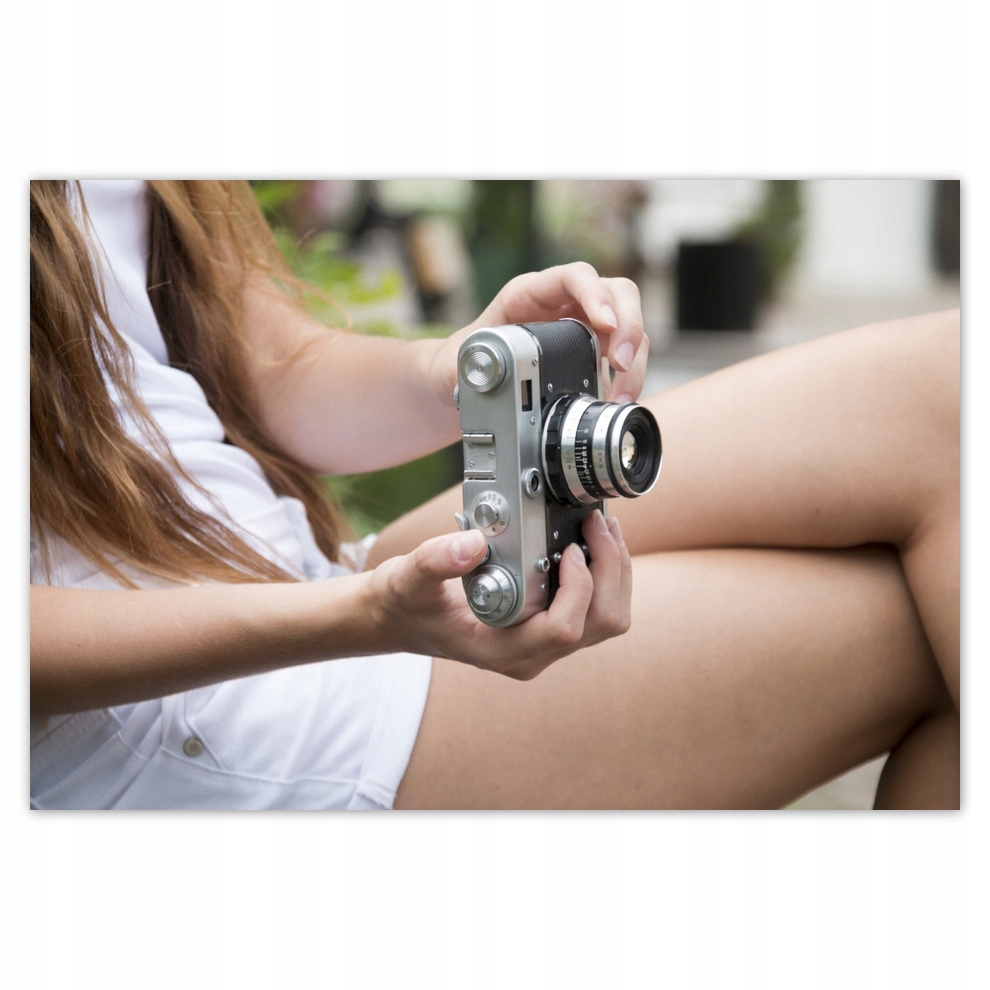 Plagáty 200x135 Vintage Camera