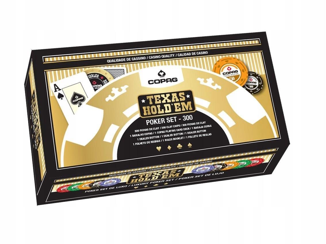 CARTAMUNDI Luxury Poker 300 žetónov