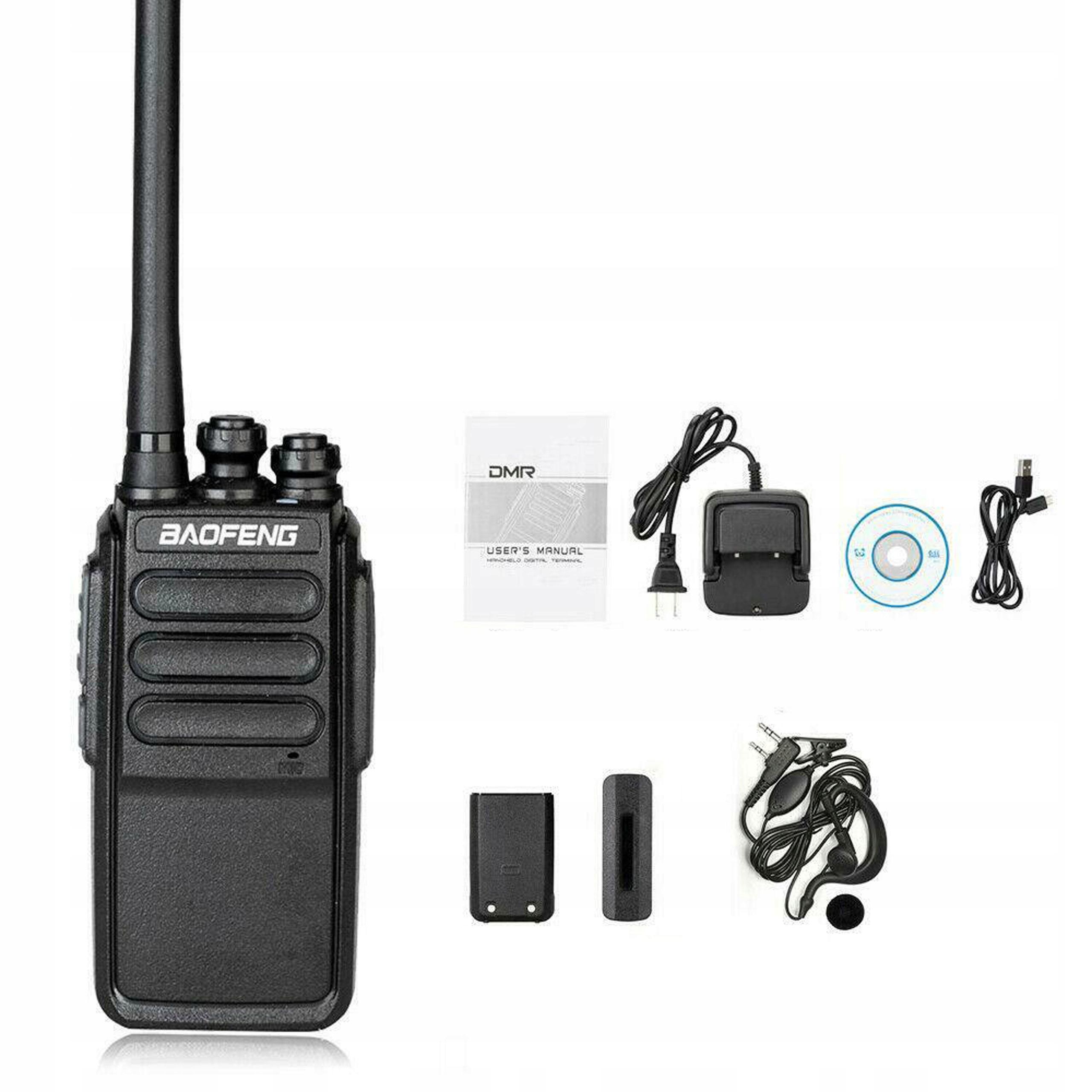 Купить baofeng DMV1 радиостанция SPDMR  23-фильтр 1024 КАНАЛЫ на Eurozakup - цены и фото - доставка из Польши и стран Европы в Украину.