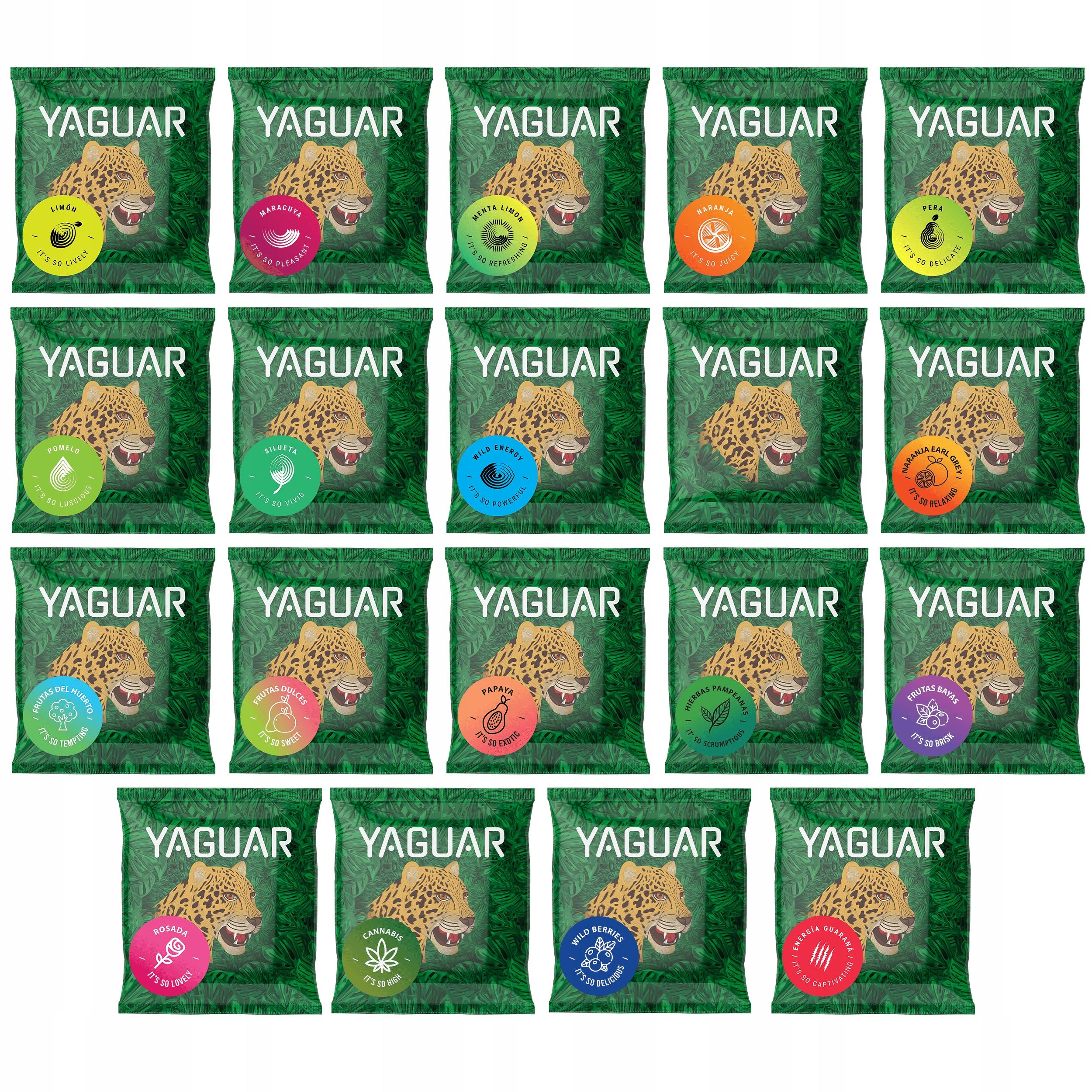 Yerba Mate Sample 50g Yaguar Сравните вкусы