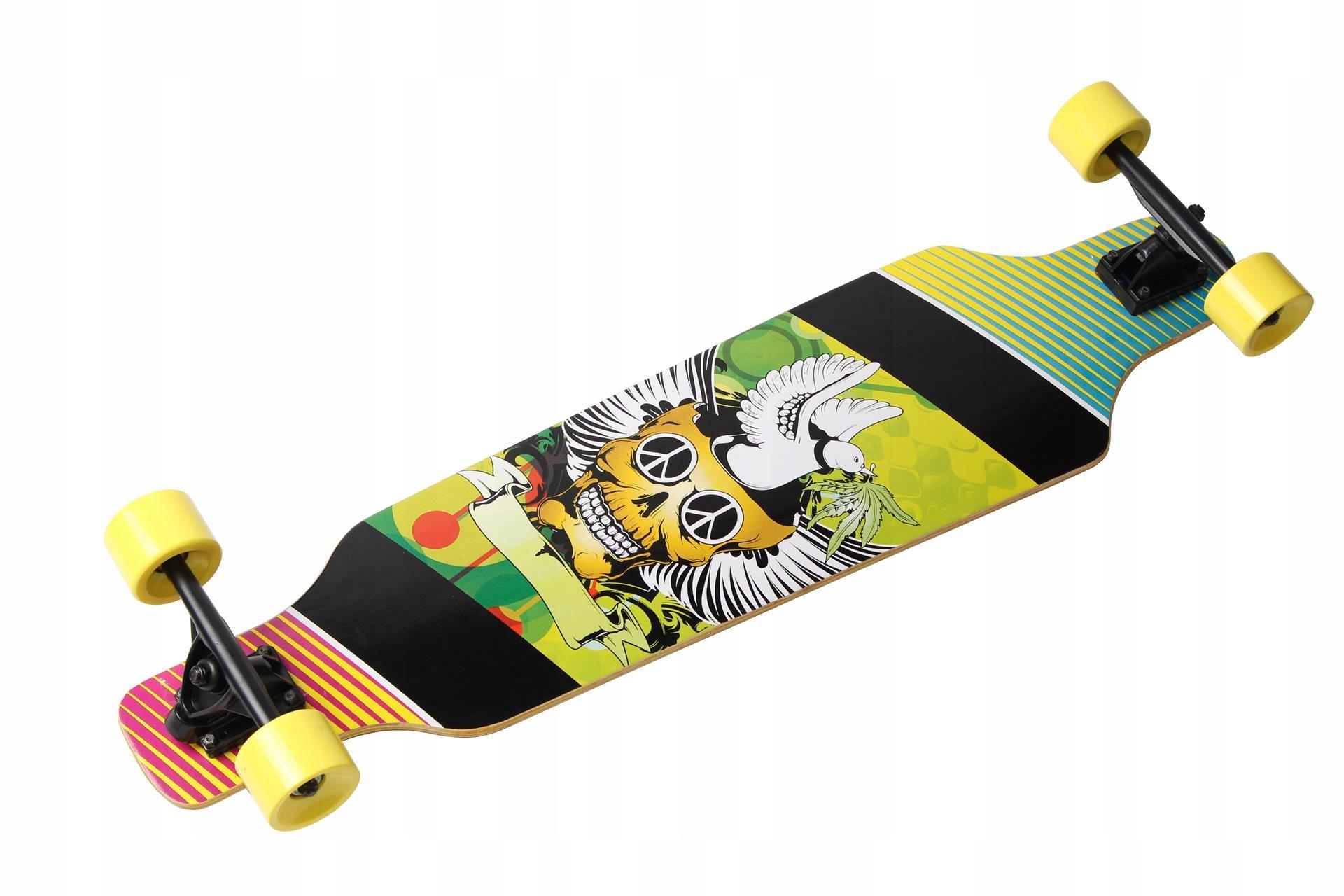 Skateboard Longboard Abec7 Katan Kanak Veľké kolesá