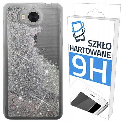 Etui Brokat+szkło Hartowane do Huawei Y6 2017