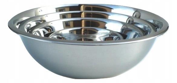 Zestaw misek stalowych 5 szt. Pojemniki kuchenne