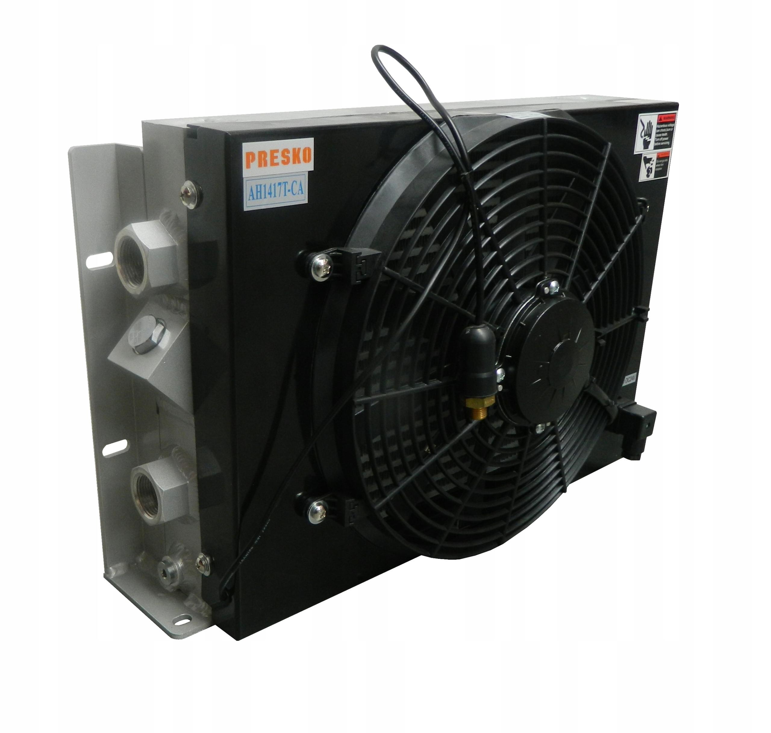 Радиатор гидравлического масла 150 л / мин DC 12V