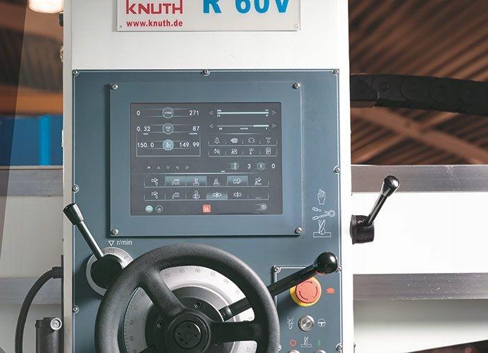 KNUTH R 60 VT WIERTARKA PROMIENIOWA 1600X60 SERWO Kod produktu 101656