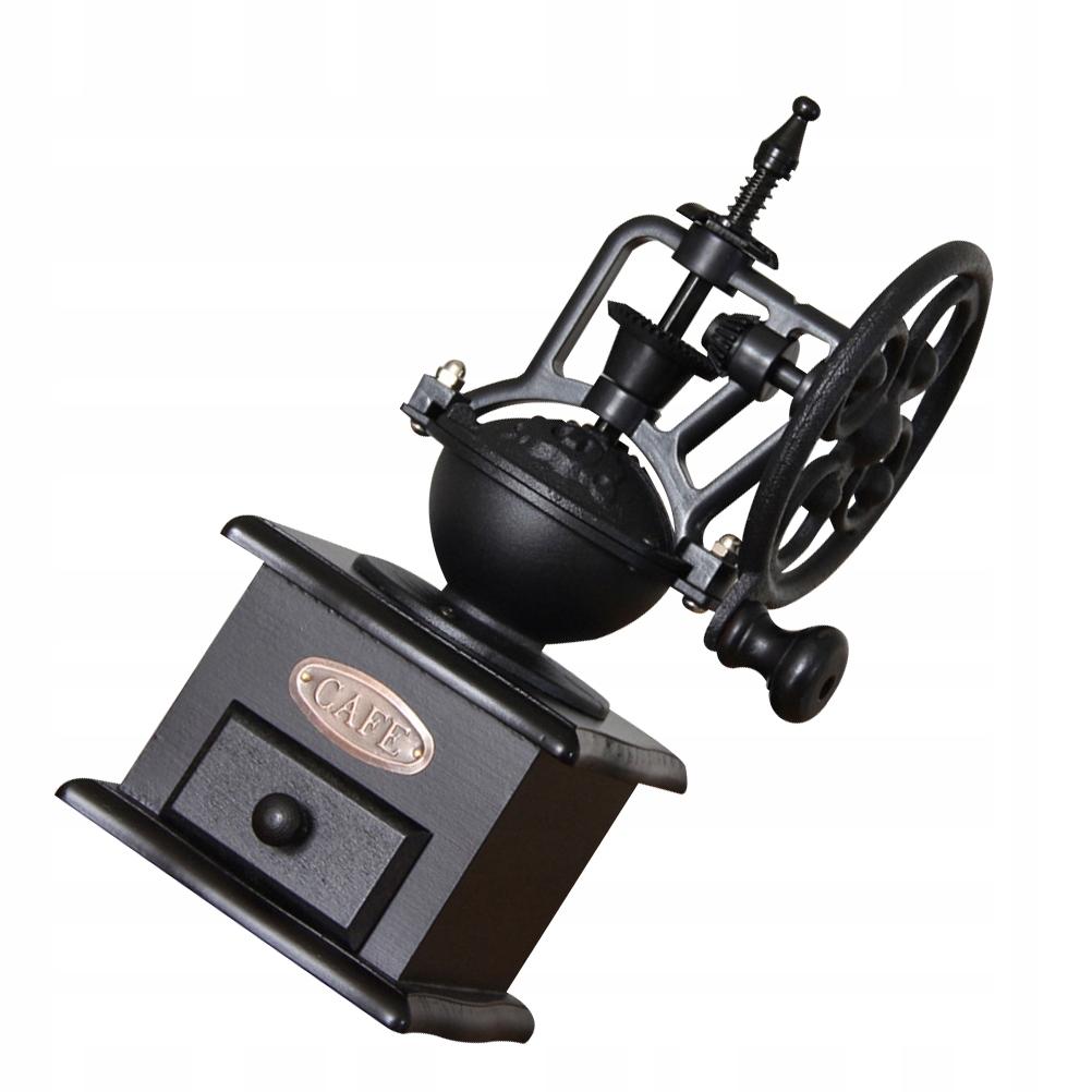 1PC retro mlynček na kávu s ručnou kľukou pre kávu