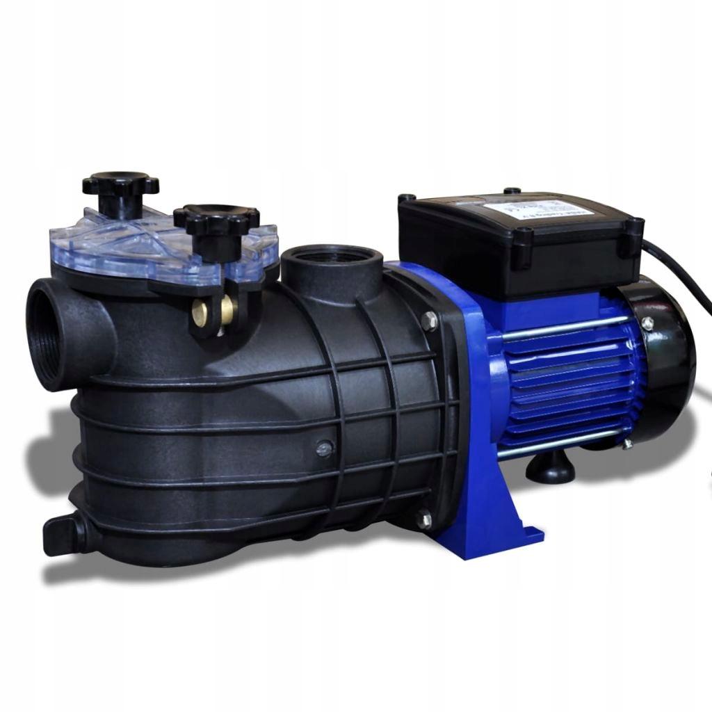 Электрический насос бассейна, 500 Вт, 50 Гц, 9000 л/ч