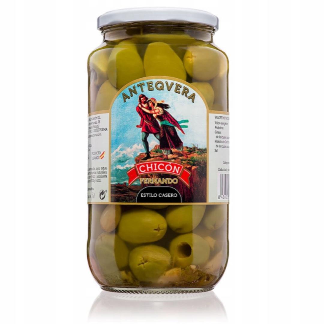 Испанские оливки XL в домашнем маринаде, королевские