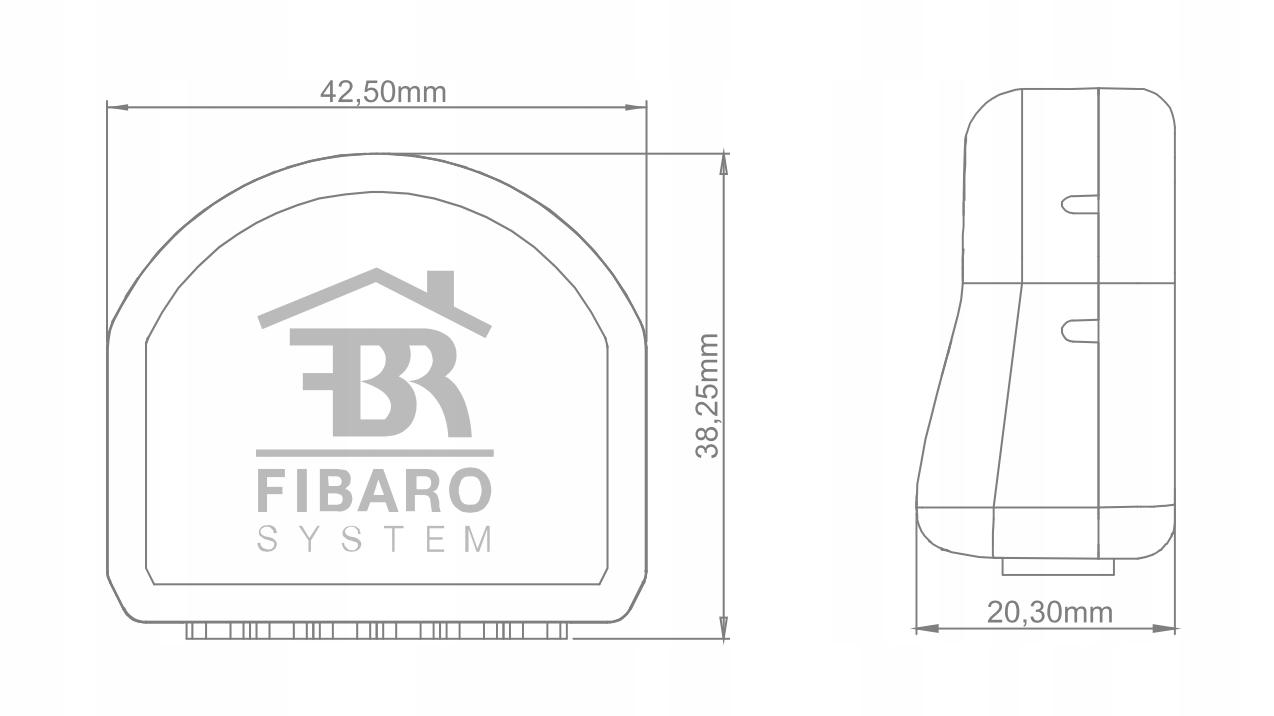 FIBARO Smart Module Z-wave Rodzaj sterownik