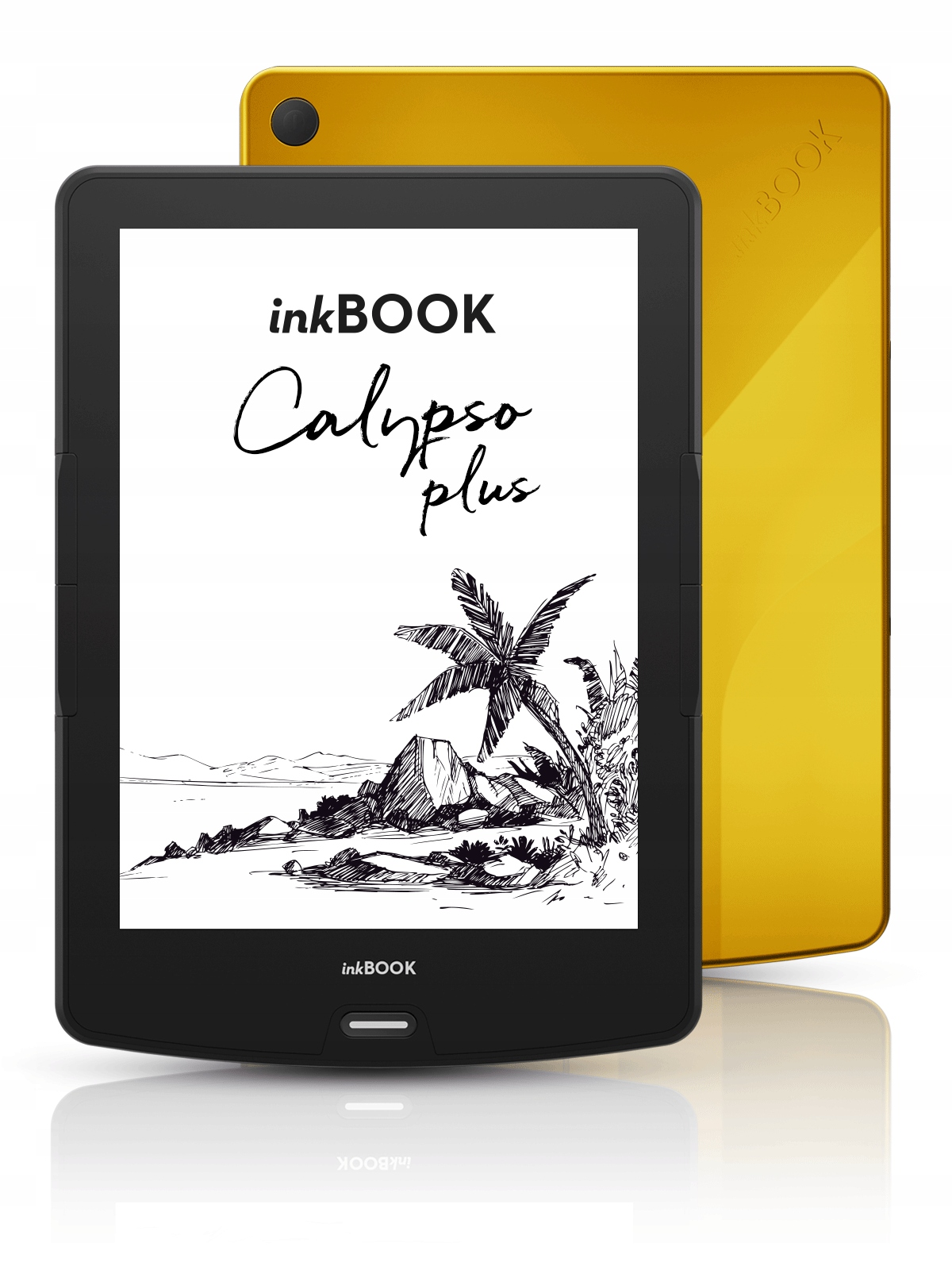 inkBOOK Calypso Plus YELLOW + kod Legimi 60 dni