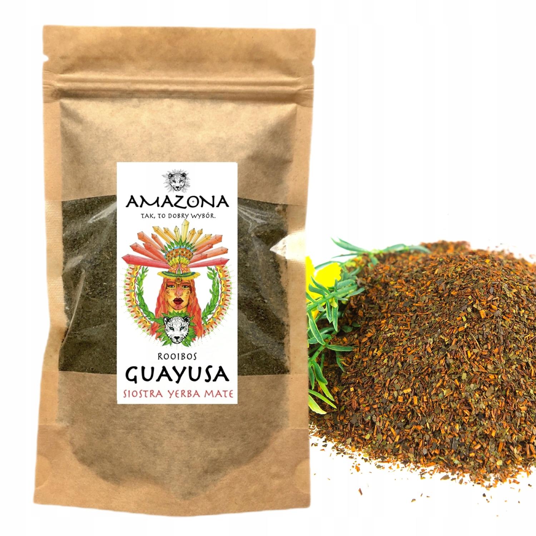 ILEX GUAYUSA Zestaw Smaków 6 x 250gram AMAZONA Cechy dodatkowe niesiarkowane niski indeks glikemiczny niskotłuszczowe odpowiednie dla diety ketogenicznej raw (surowe) superfood wegańskie wegetariańskie