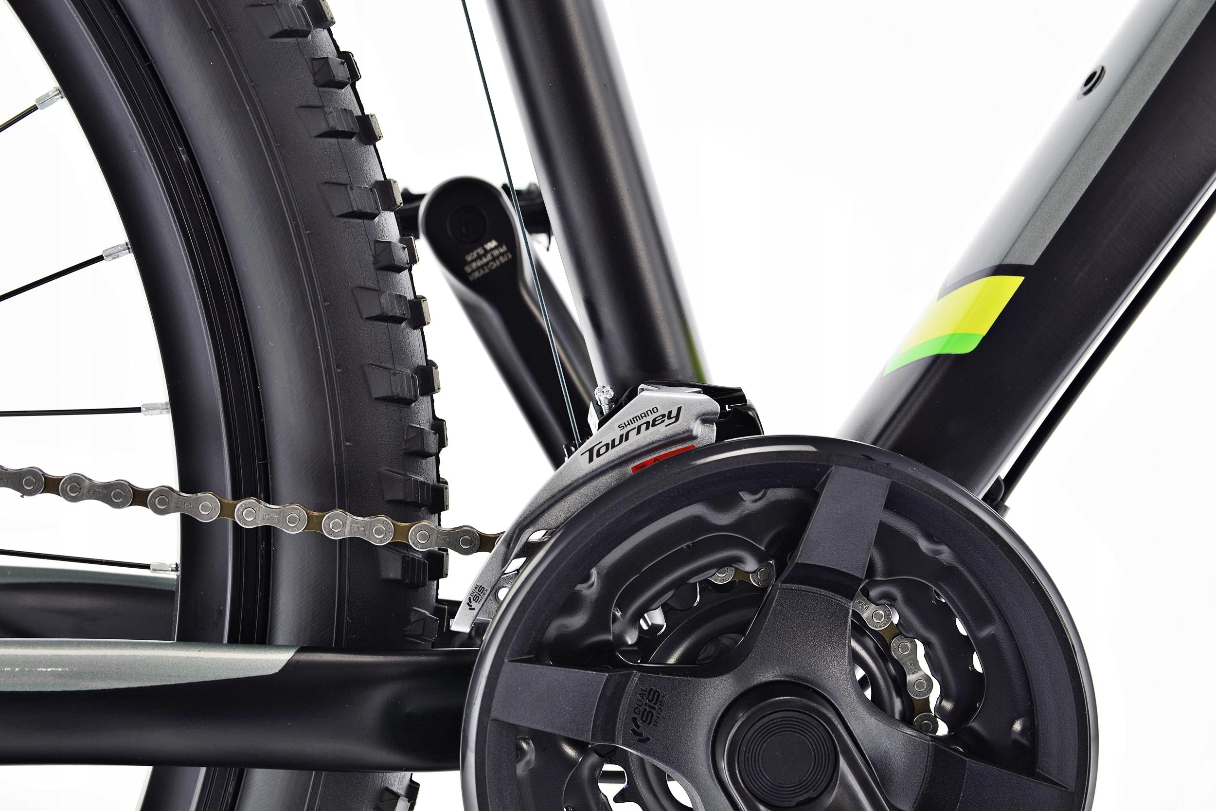 Rower MTB Kands 29 COMPER 21 czarno-seled 2021 Materiał ramy aluminium