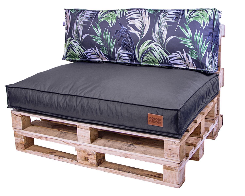 Набор садовых подушек, гранулы 120x80x15