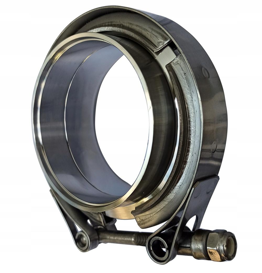 комплект зажим v-band v-clamp 76mm 3 дюйма выдох