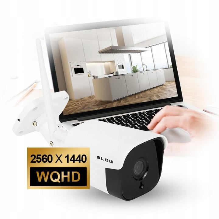 Kamera BLOW IP WiFi 4MP metal H-345 - Produkty - BLOW