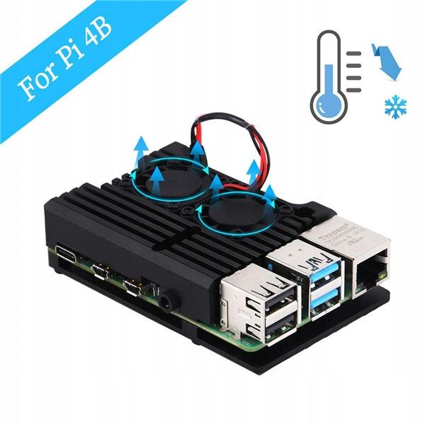 Купить Radiator do Raspberry Pi 4 Model B,wentylator на Otpravka - цены и фото - доставка из Польши и стран Европы в Украину.