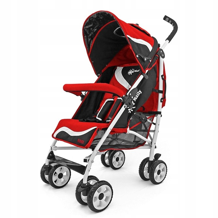 MILLY MALLY RAIDER RED WALKING TROLLEY