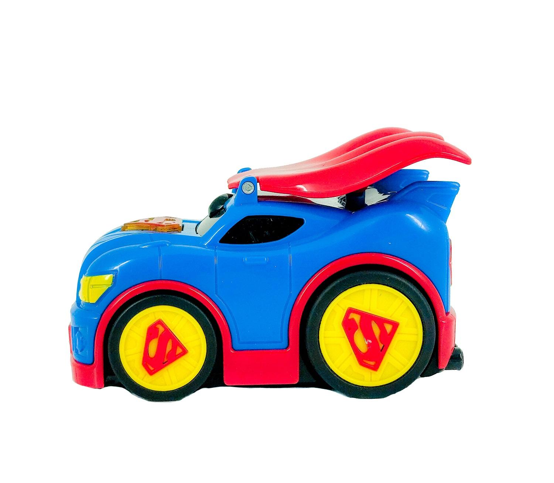SUPERMAN AUTO ŚWIATŁO DŹWIĘK NAPĘD DC SUPER CAPE Marka inna