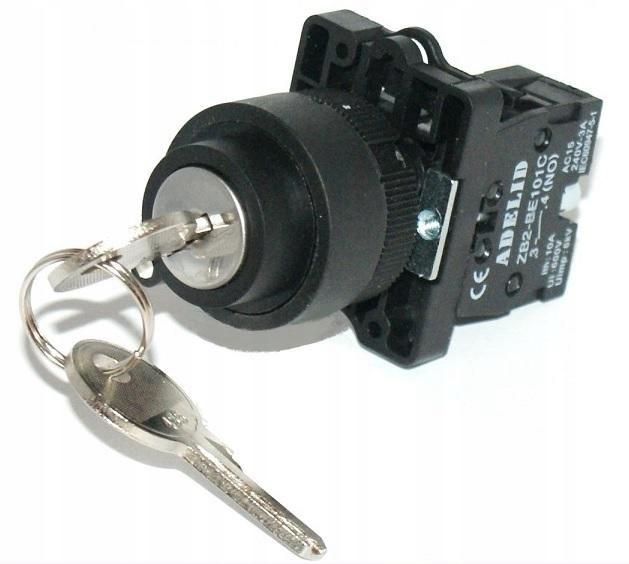Prepínač peria peria s kľúčom XB2-EG21