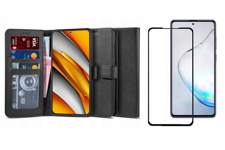 Etui Wallet 2 + Szkło Full Glue do Xiaomi Poco F3