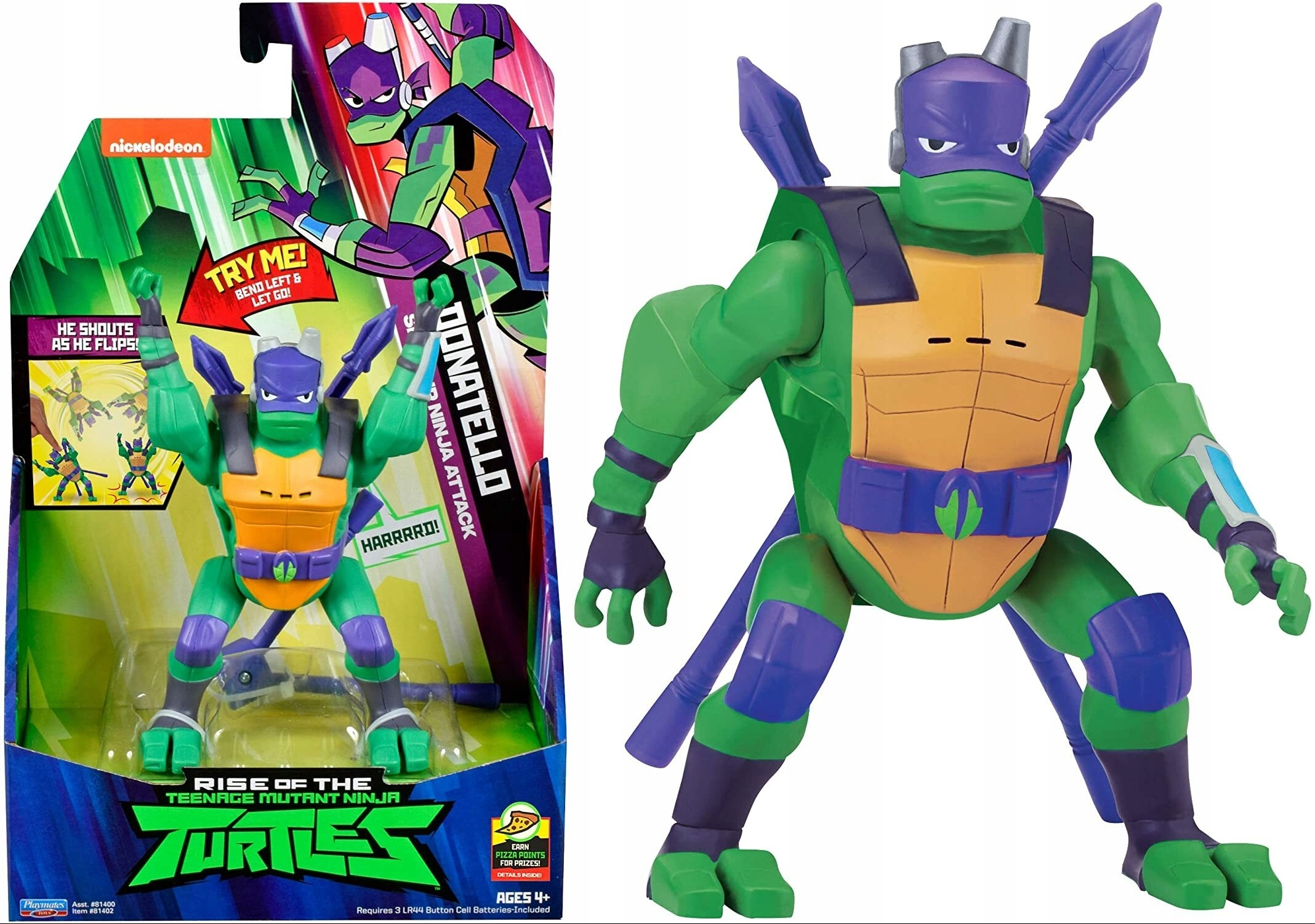 WARRIOR NINJA TURTLES INTERACTIVE DONATELLO.