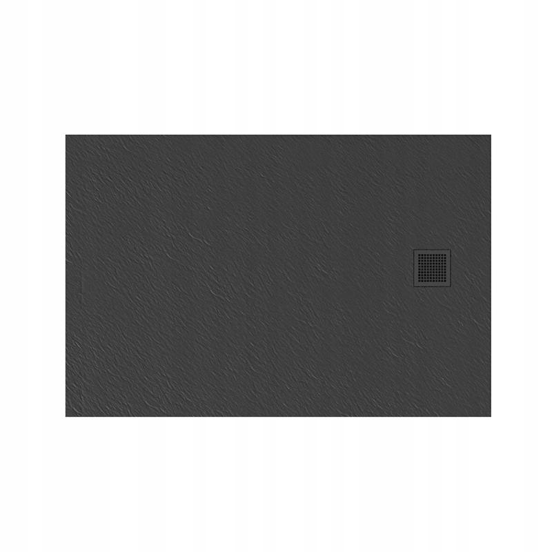 NT Sprchová vanička MORI 100X80 sivá B-0396 Konglomerát
